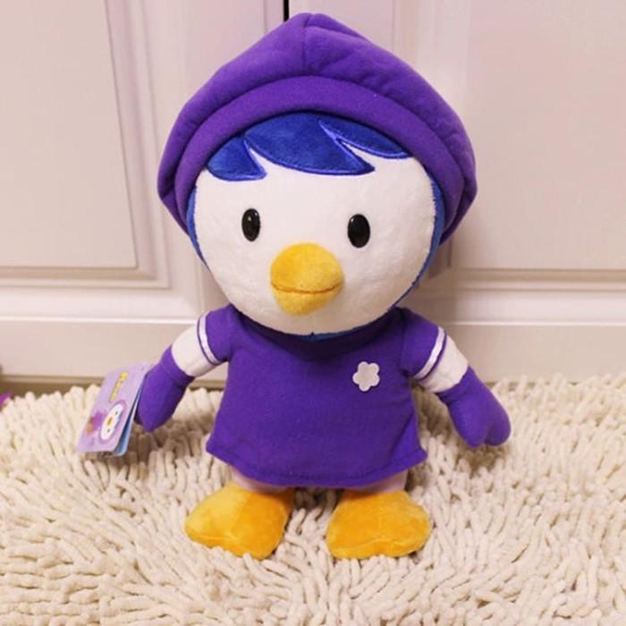Foto Produk 30cm Purple Penguin Petty Plush Toys dari mini pororo