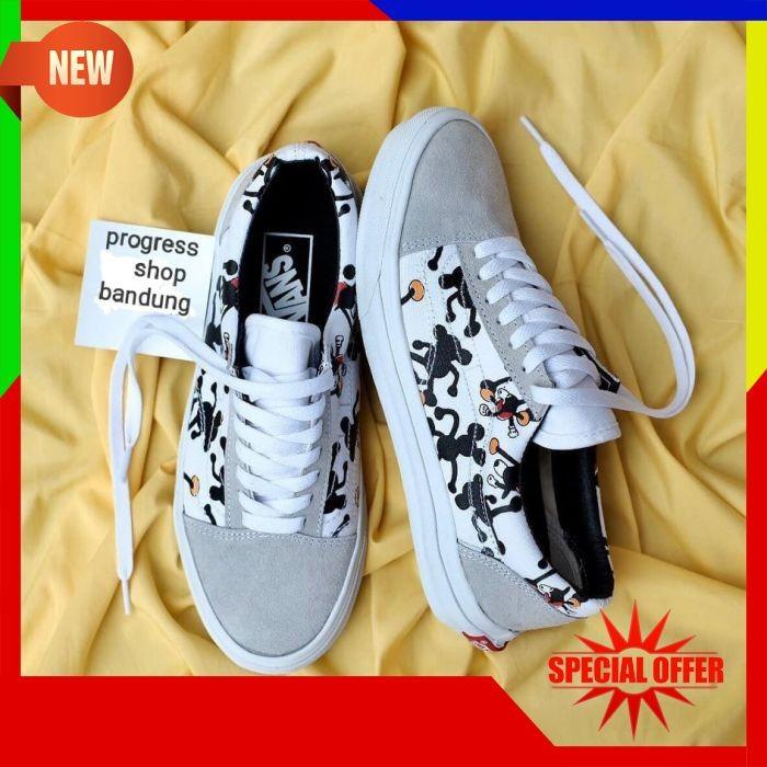 8e396157cd Jual Sepatu Vans Oldskool OG Black White Import Premium BNIB China ...