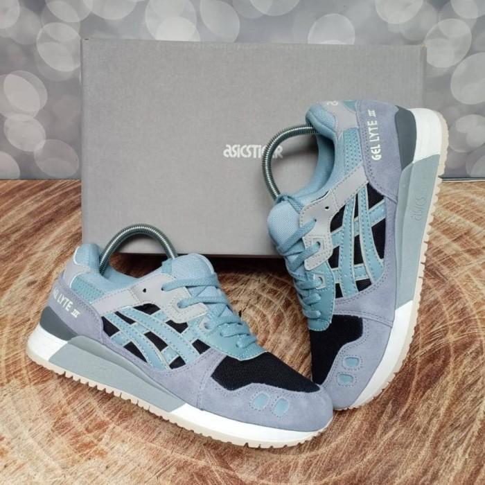 sale retailer 11bf6 cd9ba Jual Sepatu ASICS Gel Lyte III Blue Surf, Grade Premium Best, Vietnam -  Kota Tangerang Selatan - nefishoes   Tokopedia