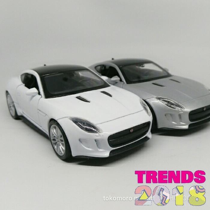 F Type Coupe >> Jual Miniatur Mobil Jaguar F Type Coupe Tokomoro Kado A Jakarta Utara Lotus Gadget Tokopedia