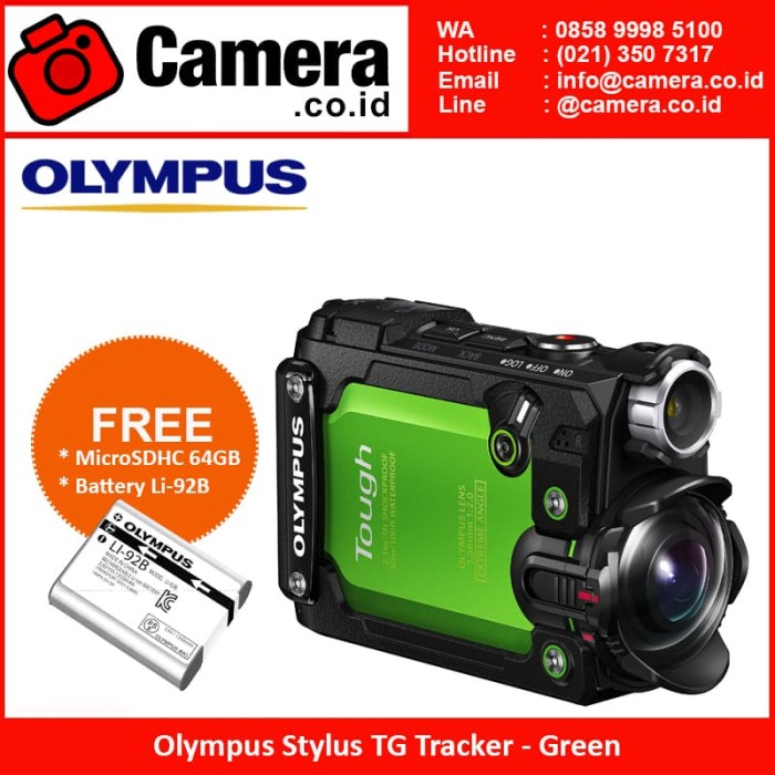 harga Olympus stylus tg tracker -  green action camera Tokopedia.com