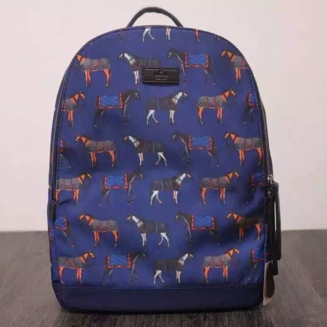 f5baa5e3425a Jual gucci backpack horse canvas high quality limited - DKI Jakarta ...