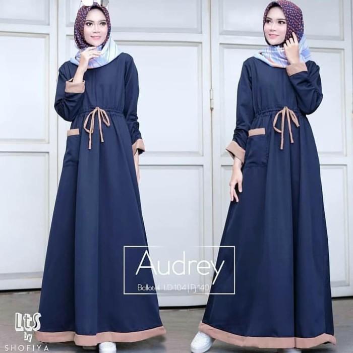 Jual AUDREY MAXI DRESS MUSLIM  d9386c9edc