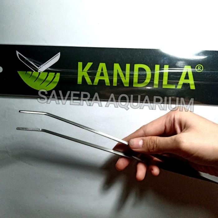 PINSET KANDILA 304 / BENGKOK / 27cm / AQUASCAPE TOOLS