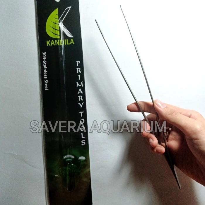 PINSET KANDILA 304 / LURUS / 27cm / AQUASCAPE TOOLS