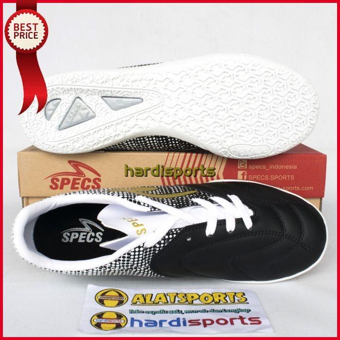 Jual Sepatu Futsal Pria Specs Equinox IN 400773 Black ORIGINAL - MED ... 3519ac7187
