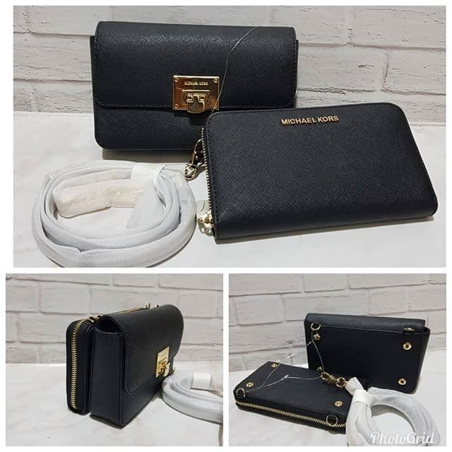 396847f3bb40 Jual Tas Michael Kors Original Mk Tina Wallet Clutch Crossbody