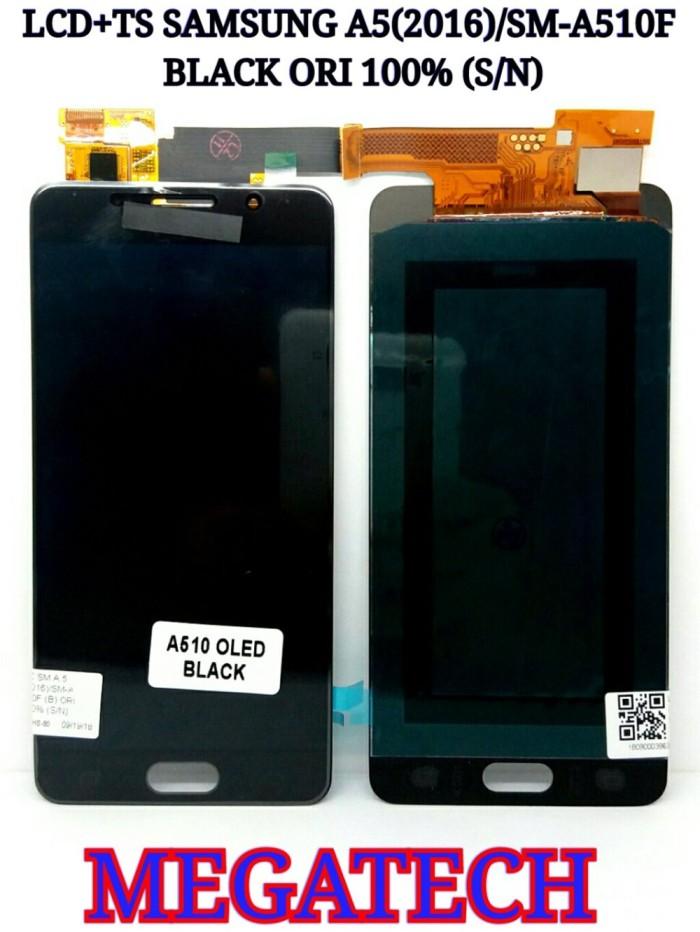 harga LCD TOUCHSCREEN SAMSUNG A5 2016 SM-A510F - TS BLACK ORIGINAL Tokopedia.com
