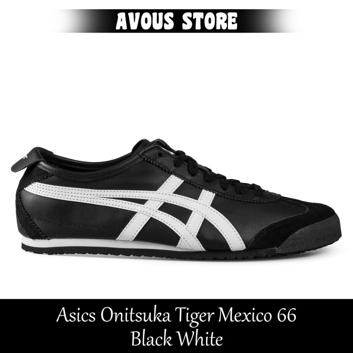 the best attitude 5ef6b c3ac9 Jual Sepatu Pria Asics Onitsuka Tiger Mexico 66 Black White - Kota  Tangerang - AVOUS STORE | Tokopedia