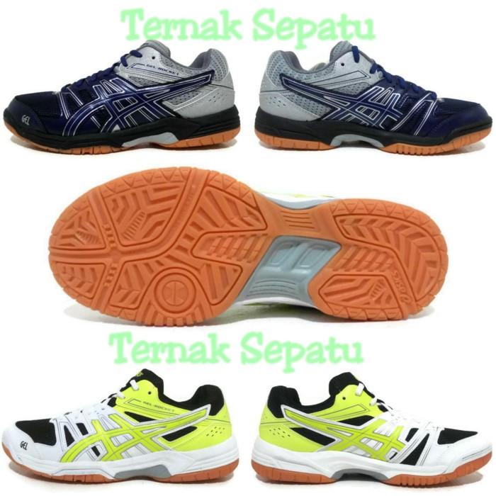 Jual Sepatu Volley Pria Asics Gel Rocket Original   Volly Voli Cowok ... 82a545deb4