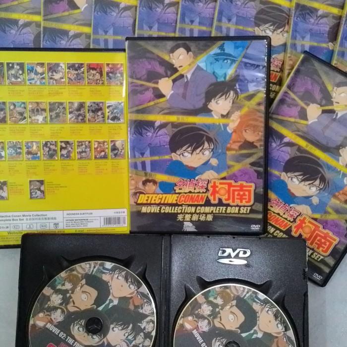 Jual koleksi Film Detective Conan Movie 1-26 For DVD - Kota Tasikmalaya -  Toko Film DVD | Tokopedia