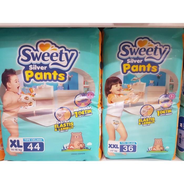 41bc0f872 Jual Sweety S 66/ M 60 / L 54 / XL 44 / XXL 36 SILVER Fit Pants ...
