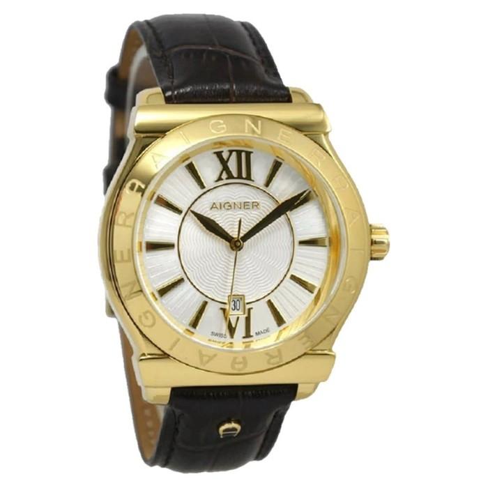 harga Aigner a24116d bolzano - jam tangan pria - kulit gold Tokopedia.com
