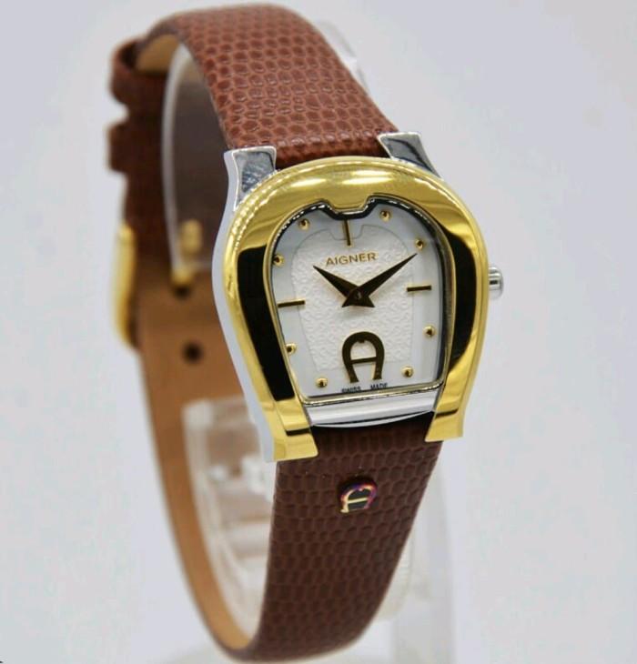 harga Aigner a24237a ascoli - jam tangan wanita - kulit coklat Tokopedia.com