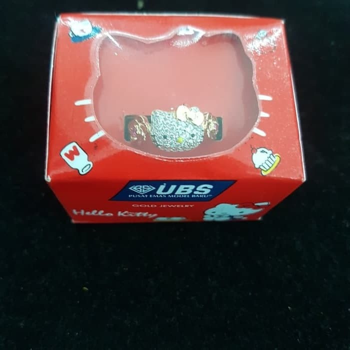 Jual Cincin Hello Kitty Ring 11 Emas 70 2 59 Gr Kota Surabaya