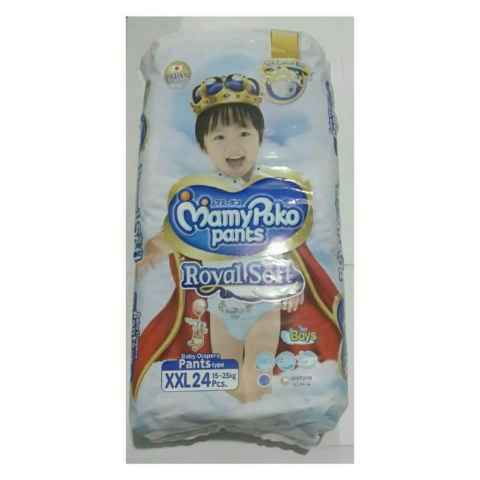 Mamypoko royal soft boy xxl24 - mamy poko pants xxl 24 ( extra soft )
