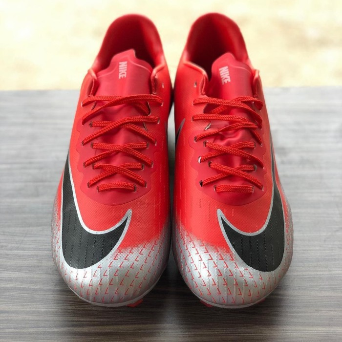 Jual Sepatu Bola Nike Mercurial Vapor XII Academy CR7 Bright Crimson ... 8453f2ae1b