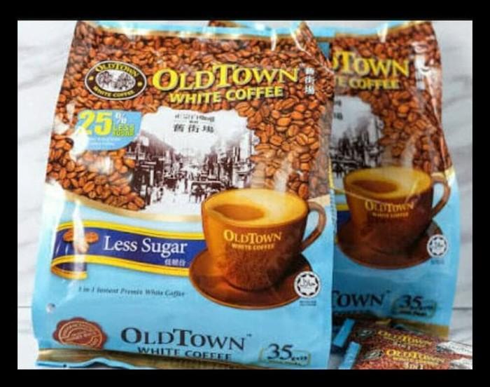 Tow For Less >> Jual Oldtown White Sugar 3in1 Less Sugar Kopi Putih Premix Instan Old Tow Dki Jakarta Teguh Shop87 Tokopedia