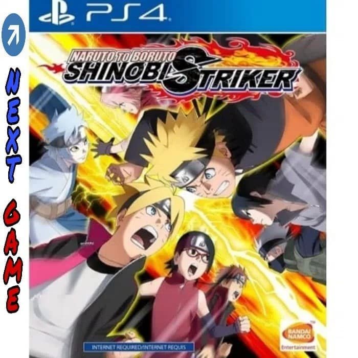 harga Ps4 naruto to boruto shinobi striker (internet required) region 3 Tokopedia.com