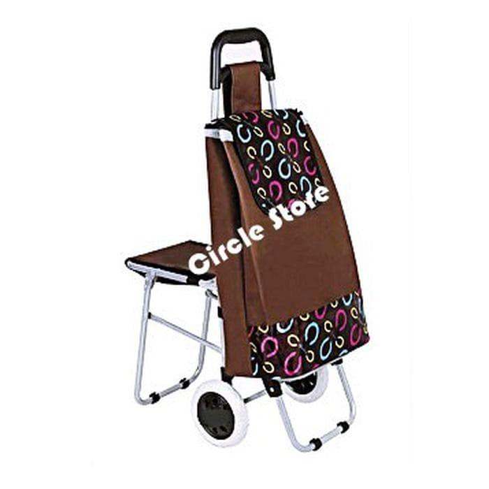 Jual Tas Belanja Trolley   Shopping Trolley Bag Exclusive With Seat ... abd1596d71
