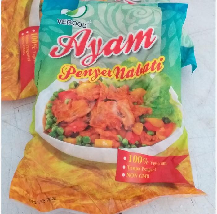 Jual Vegood Ayam Penyet Nabati 450 Gr Vegetarian Dki Jakarta Vegemarts Tokopedia
