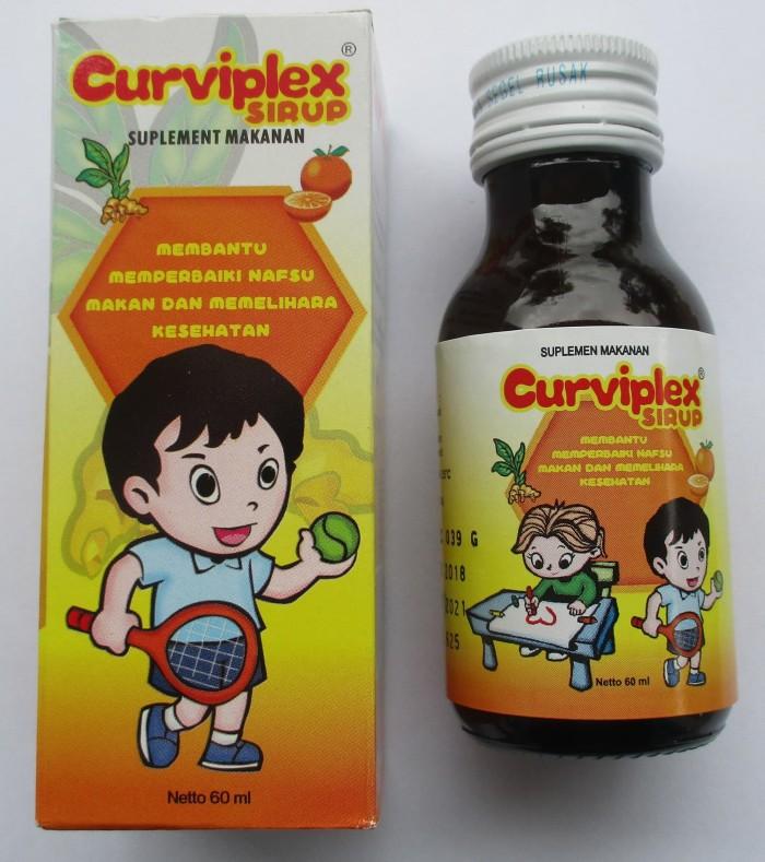 Foto Produk CurviplexSirup 60 ml - Vitamin SuplemenMakanan dari AL-HDYH