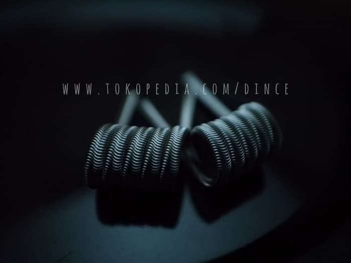 Foto Produk Alien Fused Clapton Full TM Twisted Messes Ni80 TMN80 Coil Vape Vapor dari oku mewangi