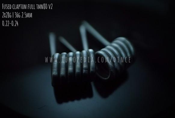 Foto Produk Fused Clapton Twisted Messes Nichrome TMN80 - Prebuilt Coil Kawat Vape dari oku mewangi
