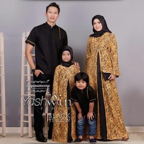 Jual Gamis Couple Keluarga Putih Kota Medan Takar Busana Tokopedia
