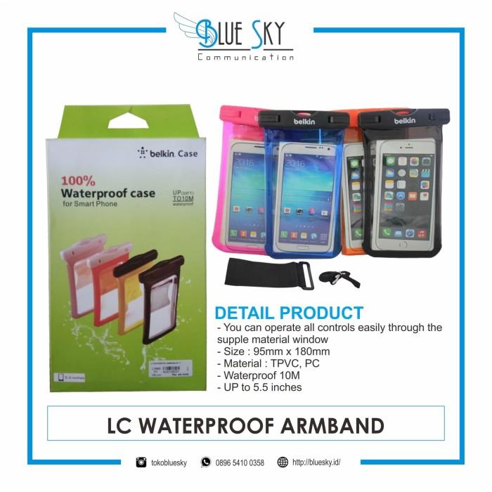 Foto Produk Sarung Waterproof HP Smartphone Anti Air dari Blue Sky Communication