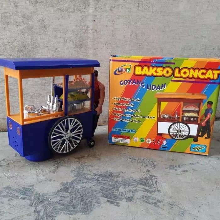harga Mainan gerobak bakso dorong - mainan anak gerobak dorong Tokopedia.com