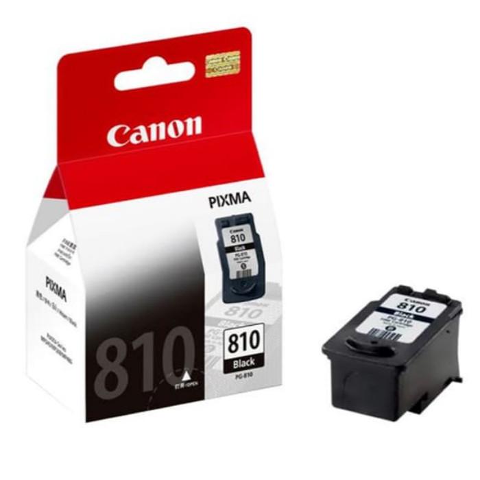 Foto Produk Tinta Canon PG810 Ink Cartridge (Black) Hitam Original PG 810 dari Multifungsi Online