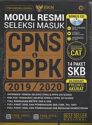 Foto Produk Modul Resmi Seleksi Masuk CPNS & PPPK 2019/2020 dari Toko Kutu Buku