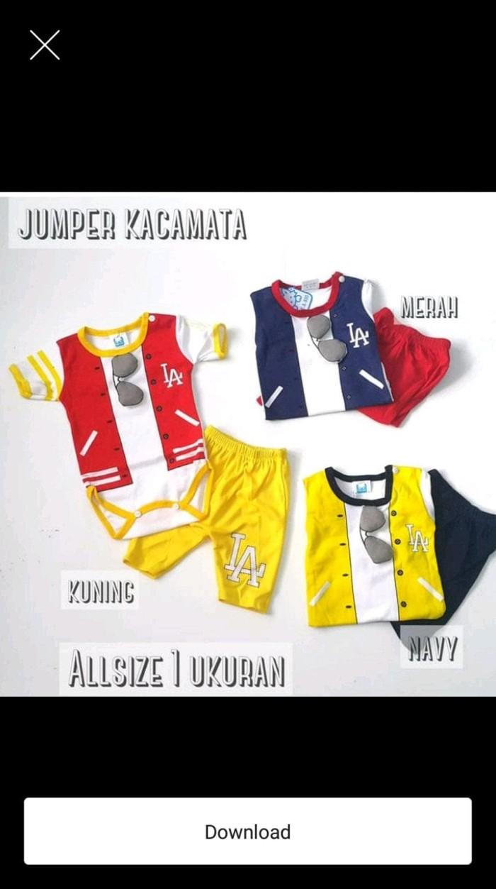 Jual Baju Bayi Laki Laki Jumper LA 3D Jakarta Barat Vomiting Store