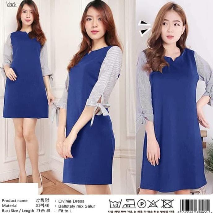 Jual Baju Dress Wanita Midi Dress Elvinia Dress Simple Dki Jakarta Amin Masamin Store Tokopedia