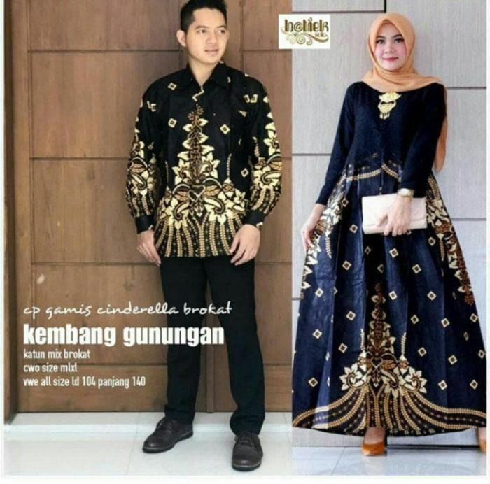 Jual Baju Batik Couple Sarimbit Gamis Brokat Batik Remaja Pesta Mnc31 Kota Pekalongan Batik Mekar Jaya Tokopedia