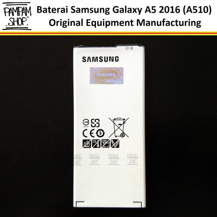 harga Baterai handphone samsung galaxy a5 2016 a510 original | a 5 a 510 Tokopedia.com