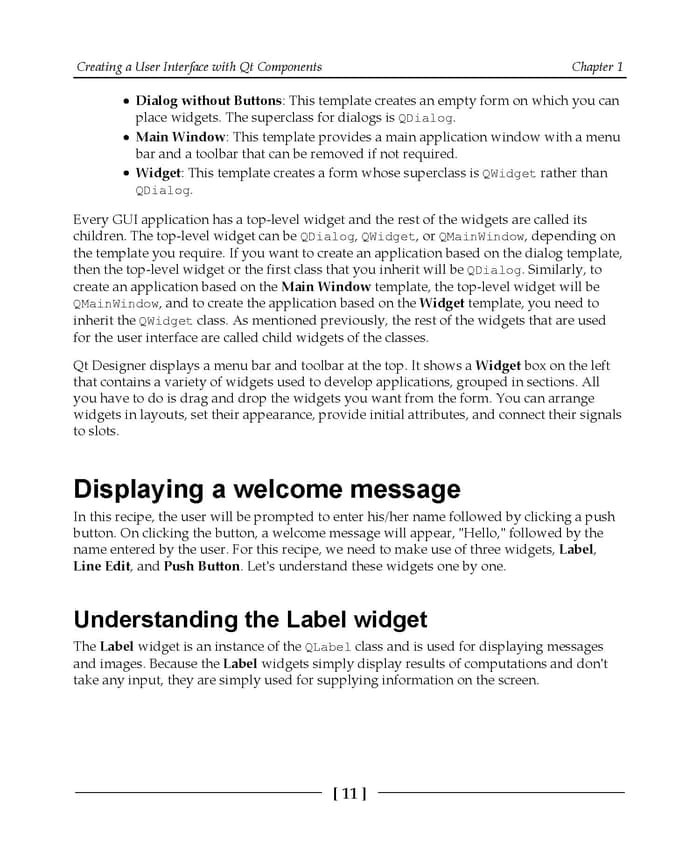Jual Qt5 Python GUI Programming Cookbook: Building responsive    [eBook] -  Wijaya E-Books 2 | Tokopedia
