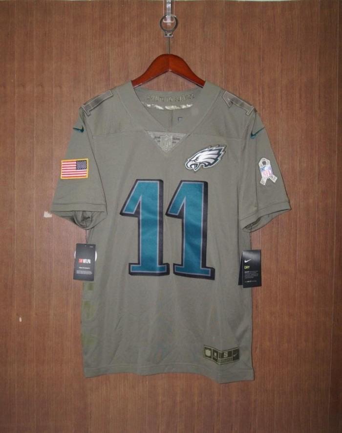 9ccc6a9e Jual Jersey Nike NFL Philadelphia Eagles #11 Carson Wentz Limited ORIGINAL  - Kota Tangerang - pemainori | Tokopedia