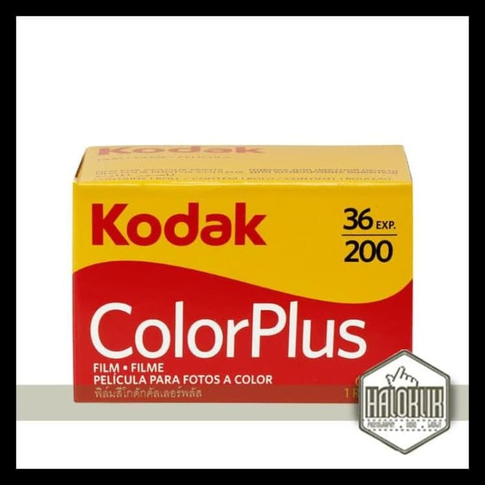 Jual Kodak Film Colour Plus 36 200 Free Ongkir Gura2 Store Tokopedia