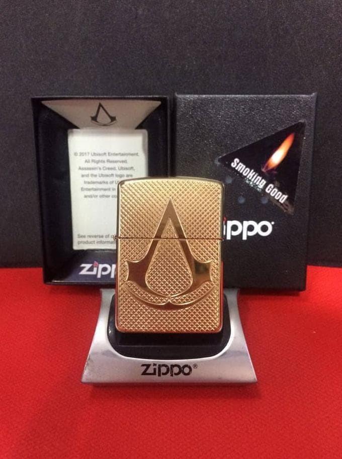 Jual Original Zippo Armor 29519 Assassins Creed Jakarta Barat