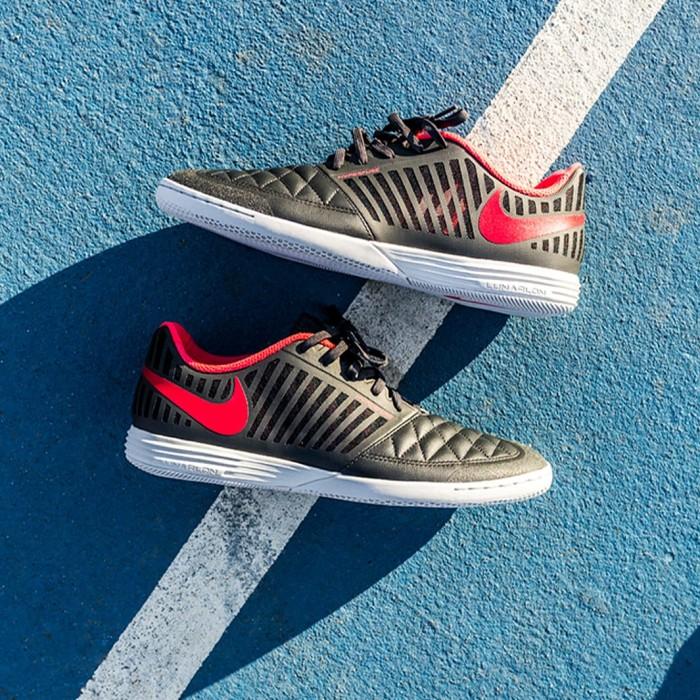 030706584 Jual Sepatu Futsal Nike Lunar Gato II IC - Anthracite Amber Glow ...