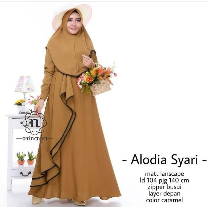 Jual Alodia Syar I Caramel Khimar Jakarta Timur Hijabfashion 234 Tokopedia
