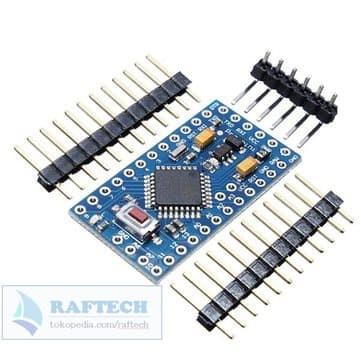 Foto Produk Compatible Arduino Pro Mini 5V 16Mhz - Atmega328 - Promini 328 dari RAFTECH