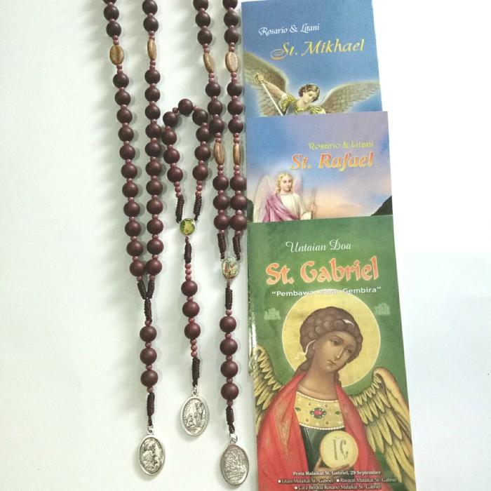 Jual rosario devosi St Michael Gabriel Rafael - Jakarta Selatan - Rosario  murah | Tokopedia