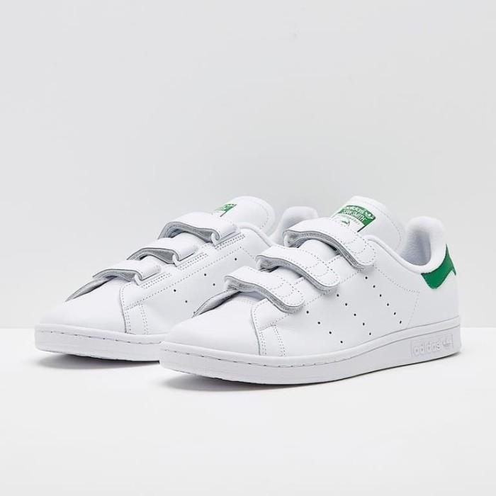 huge discount d564a 46742 Jual Sepatu Adidas Stan Smith CF Leather White Green (S75187) Original BNIB  - DKI Jakarta - Go Shoes Jakarta (INA) | Tokopedia