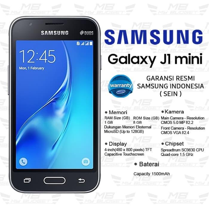 Jual Samsung Galaxy J1 Mini RAM 1GB ROM 8GB GARANSI RESMI - DKI Jakarta -  my BUDGET | Tokopedia