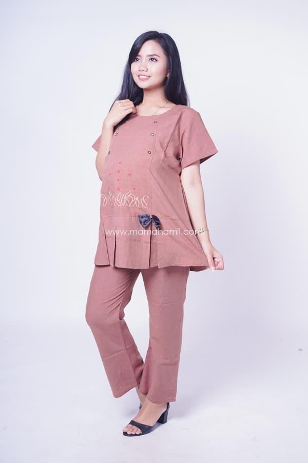 Jual Setelan Baju Ibu Hamil Kerja Claudya Cloth Terbaru Kekinian ... f132116d97