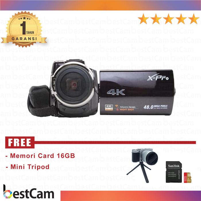 harga Handycam x-pro dvc hdv-pz5000 4k Tokopedia.com