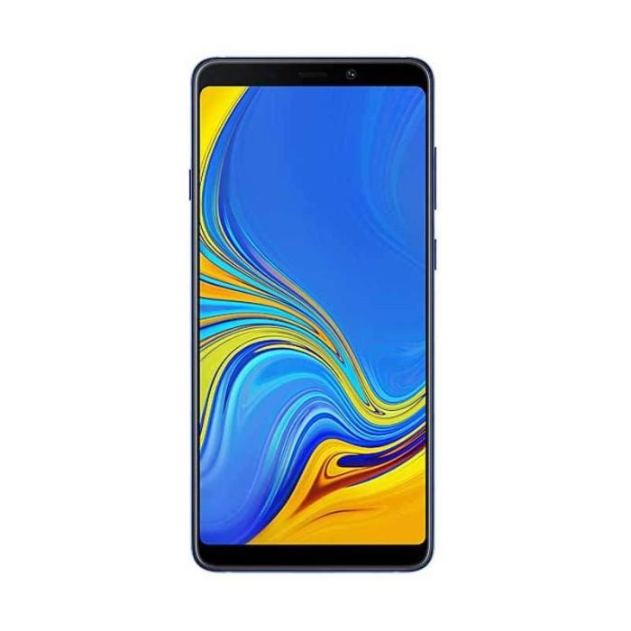 Samsung galaxy a9 2018 smartphone [128gb/ 6gb] - merah muda